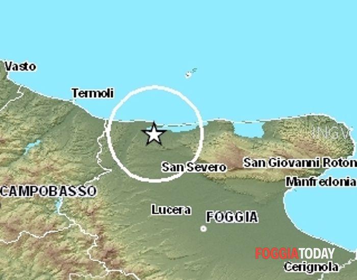 terremoto 1 gennaio - lesina 2.3
