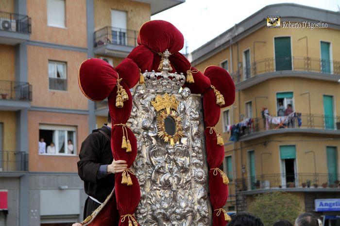 La Madonna dei Sette Veli commuove Foggia: le foto di R. D'Agostino 0